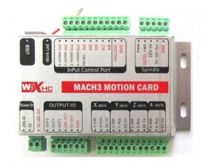 CNC Mach3 Card Controller USB New White Box3-axis