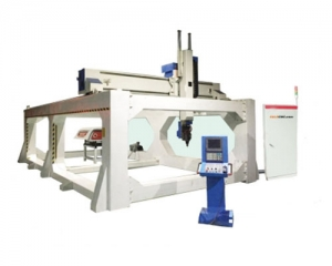 5 Axis CNC Router Milling 6000x3000mm, Japan Servo Motor