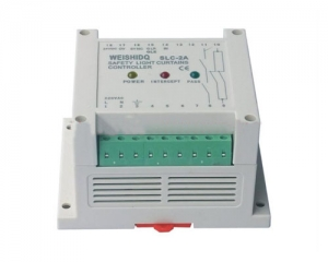 Safety light curtain controller