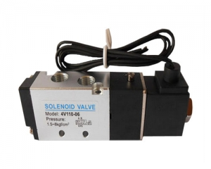 Two five-way solenoid valve. Grommet DC12V DC24V AC24V AC110V AC220V
